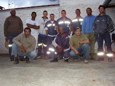 Treinamento de Op.Retroescavadeira- Primeiros Socorros - Prev. e combate a incêndio.