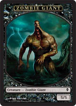 Ficha de Gigante Zombie