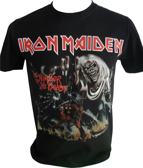 Wholesale iron maiden tshirts iron maiden wholesale music for Cheap t shirt design websites