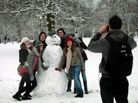 101870 salju Foto Foto Keindahan Badai Salju di Eropa