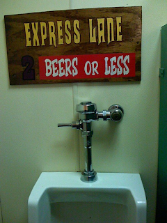 express lane urinal