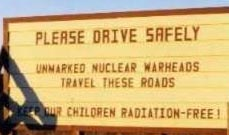 Unmarked nuclear warheads