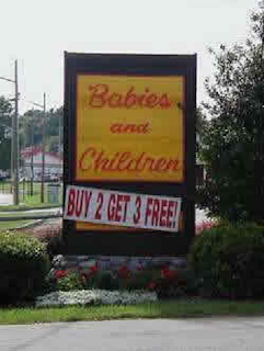 babies and children: buy 2 get 3 free
