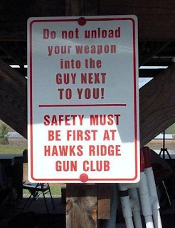 safety first at gun club