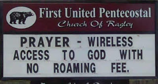 Prayer wireless access to God
