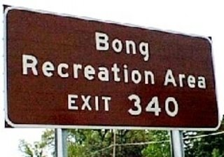 Sign for Bong Recreation Area