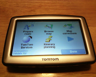TomTom XL 330S Main Menu