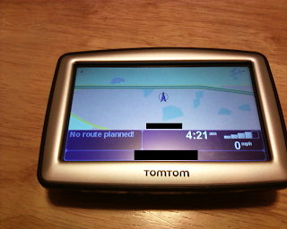 TomTom XL 330S Map Screen