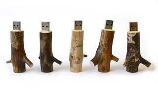 Tree Stump USB Drive
