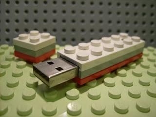 lego blocks usb key