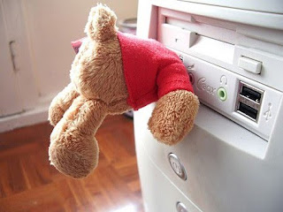 Teddy bear USB key