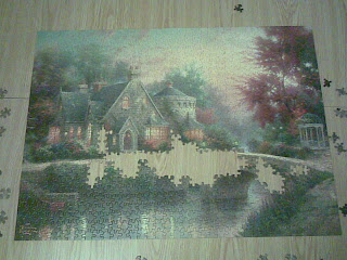 Puzzle 80% complete
