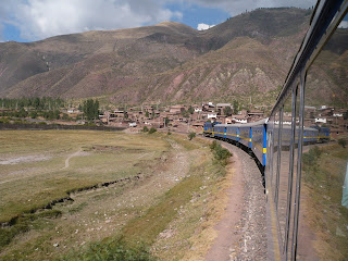 Front of Andean Explorer from back