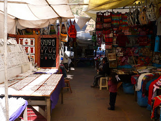 Stall in Pisac Market