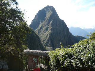 Huanya Picchu trail