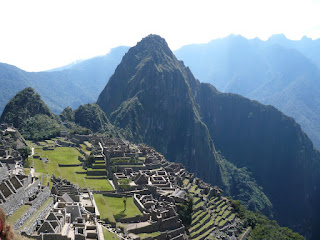 View of Machu Picchu from Guard House