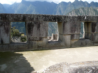 Temple of three windows, machu picchu