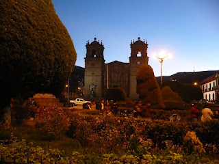 Plaza de armas, Puno, Peru