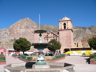 Pukara main square and church
