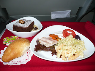 Snack on Cusco-Lima flight