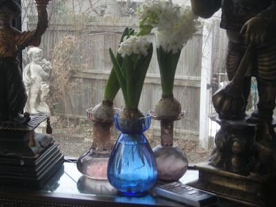 Lines From Linderhof Reprise Victorian Forcing Vases For Hyacinths