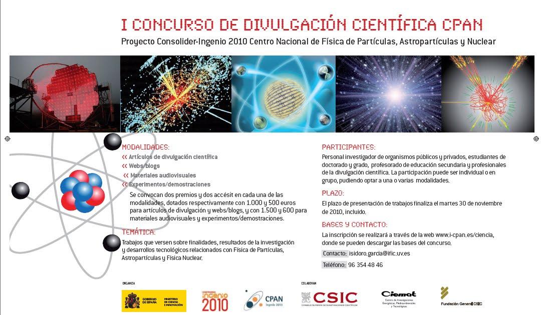 Biqfr - CSIC: I Concurso de divulgación científica