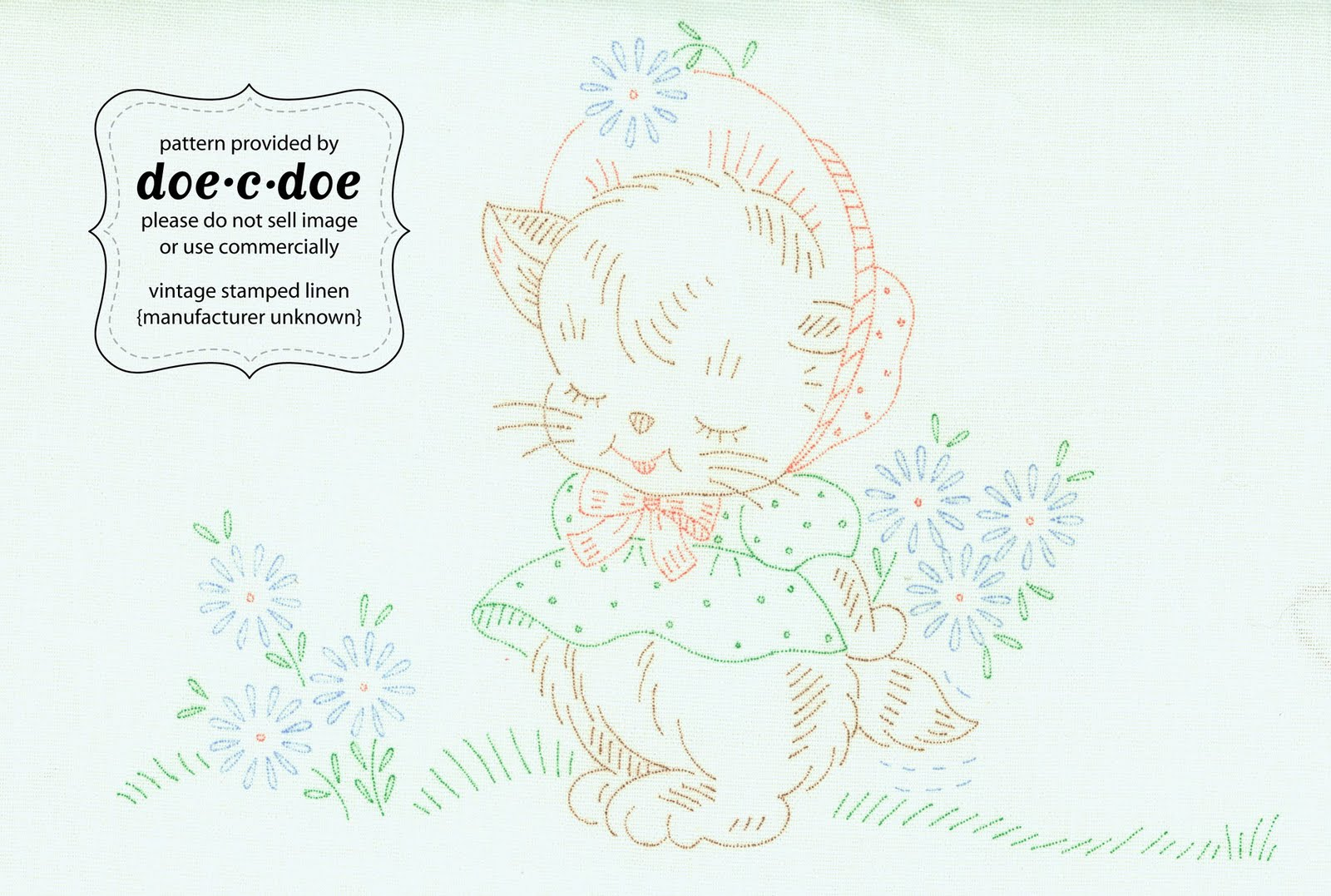 Vintage embroidery transfers « origami
