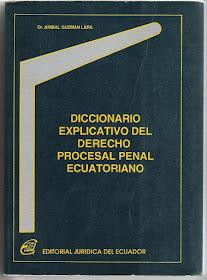 Diccionario Derecho procesal penal