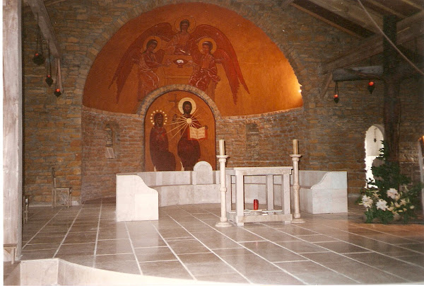 The Main Altar in the Sanctuary