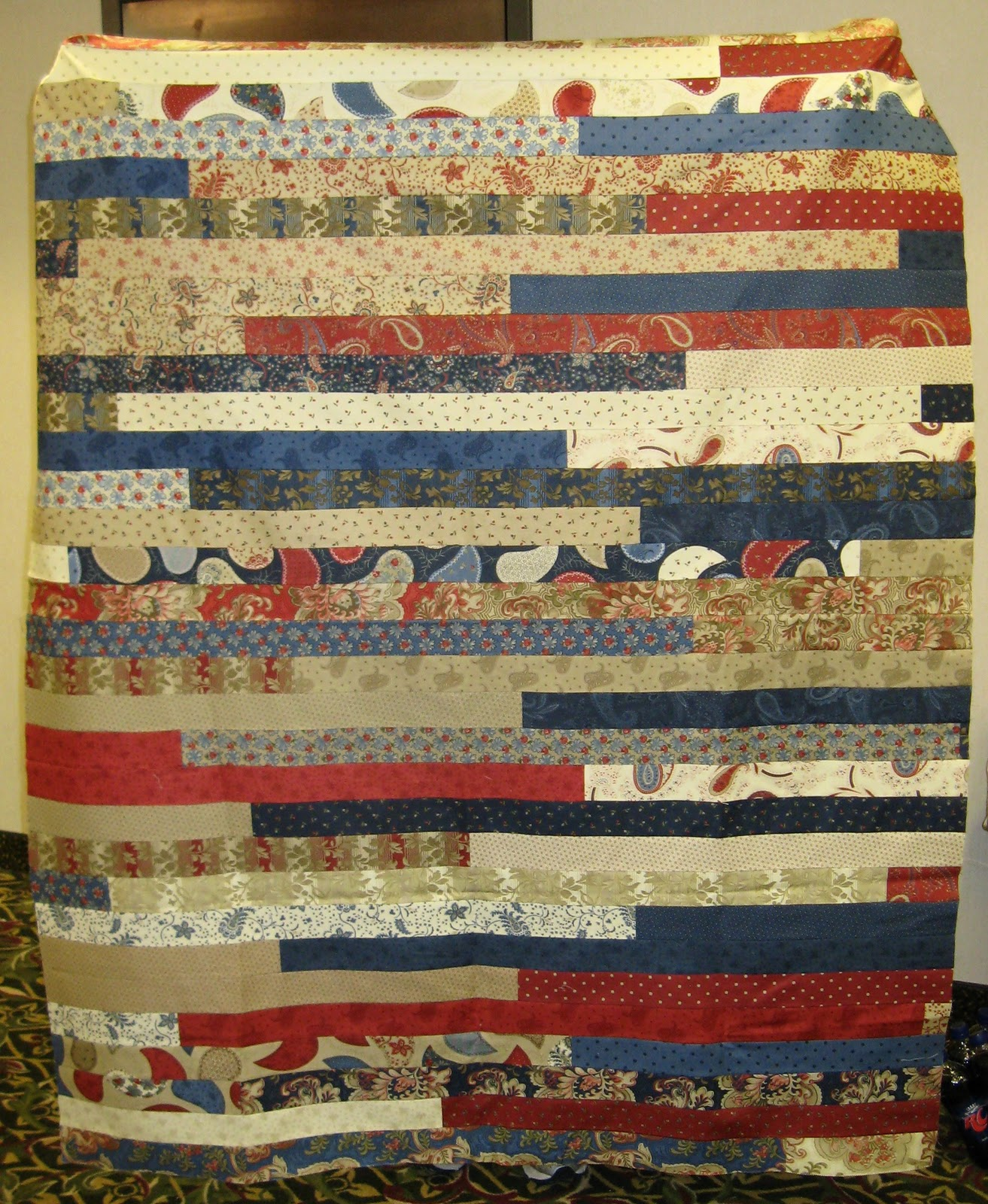 Jelly Roll Quilt   Quilts! Quilts! Quilts!   Pinterest