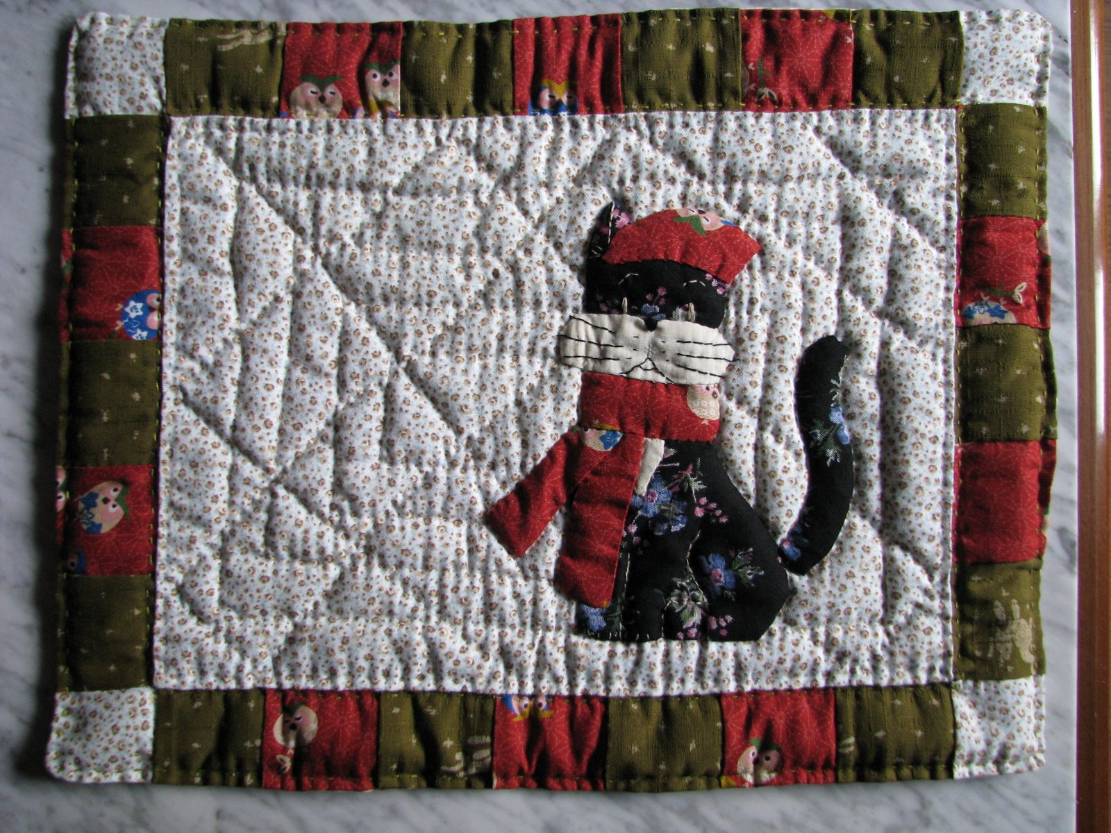 patchwork, cat, penguin, gato, pinguino