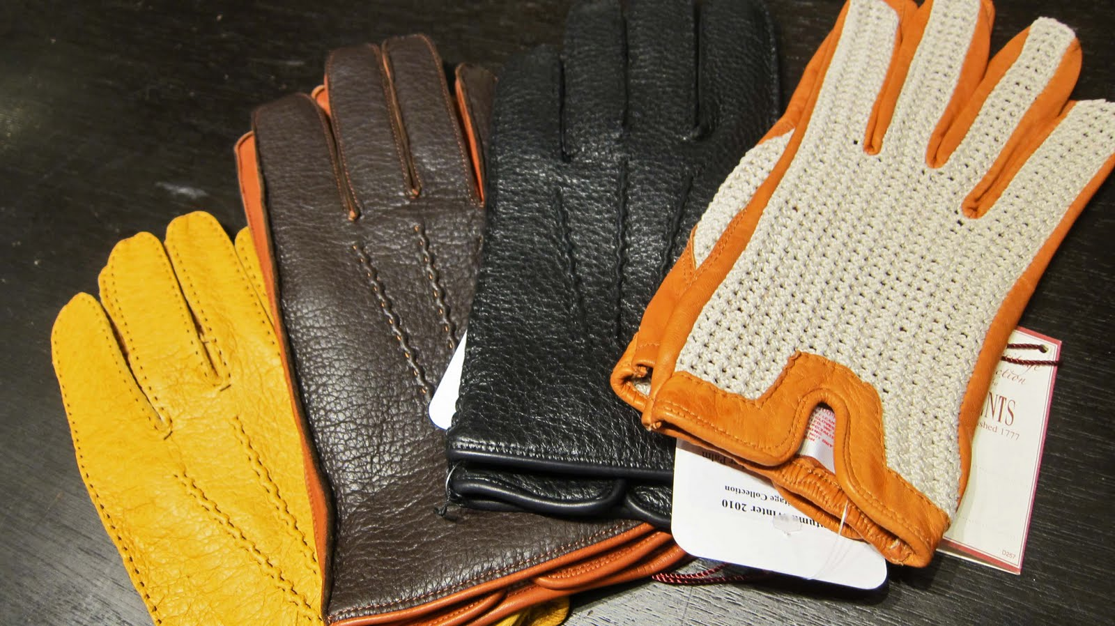 Mercedes driving gloves ebay - L To R Dents Tan Peccary Brown Tan Peccary Black Peccary And Driving Glove Good For A Life