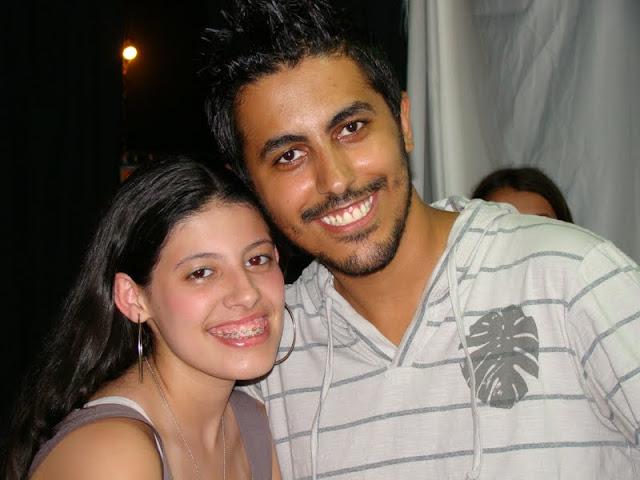 Eu e minha aluna Mariana