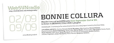 bonnie collura websynradioenglish600 Bonnie Collura sculpte le son sur webSYNradio