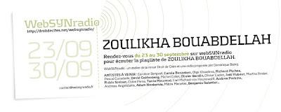 BOUABDELLAH websynradio fr 600 ZOULIKHA BOUABDELLAH invitée de webSYNradio