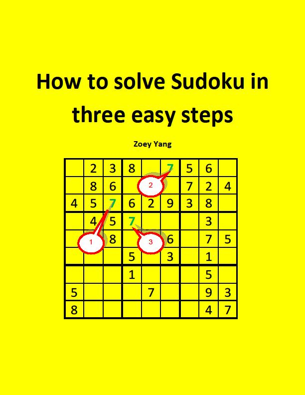 joyousave how to solve sudoku in three easy steps