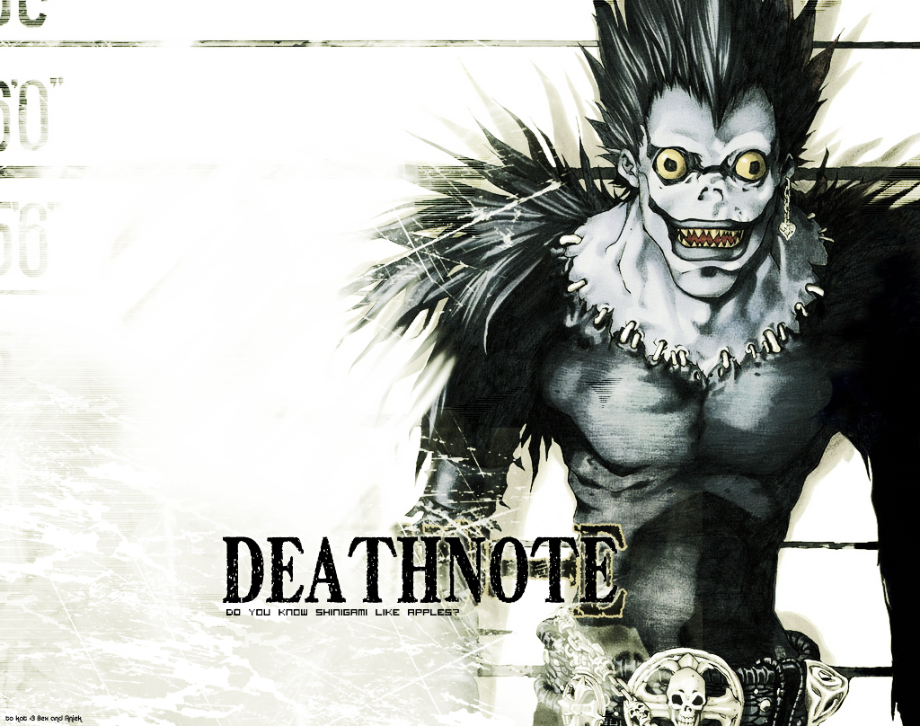 Death note wallpaper ryuk