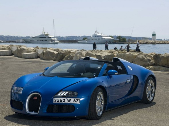 New Car Collections 2011 Bugatti Veyron 164 Super Sport