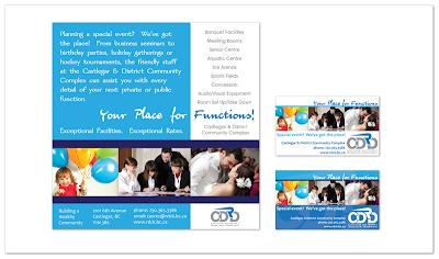 rdck castlegar recreation community complex meetings events print ad