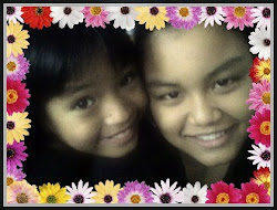 My 2 lovely daughters(Ilya Syiqreen & Ilya Batrisyia)