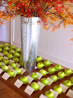 Fall Wedding Ideas Picture