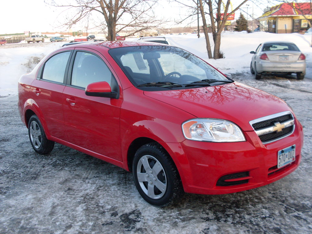 James 2010 Chevy Aveo