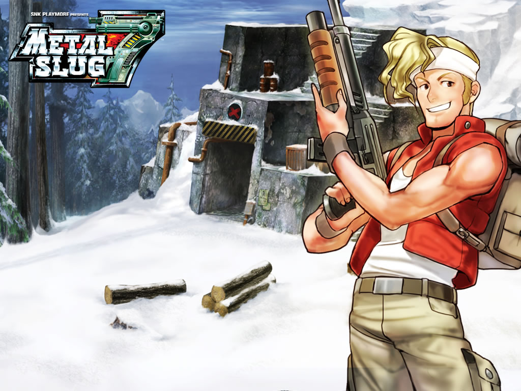 Metal Slug HD & Widescreen Wallpaper 0.471550075729318