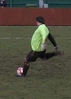 fat goalkeeper