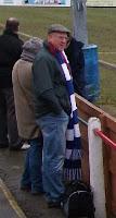 man in long scarf