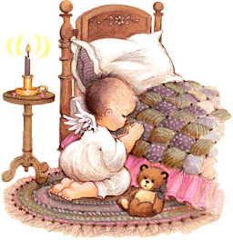 Anjinho rezando!