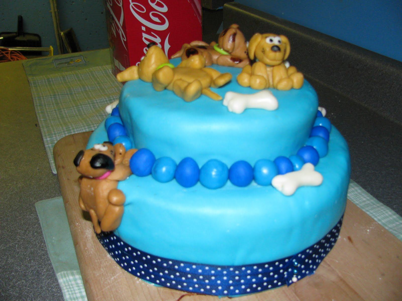 Homemade By Heather 33 Puppy Birthday Cake