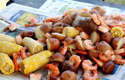 In the low country of georgia and south carolina is low country boil