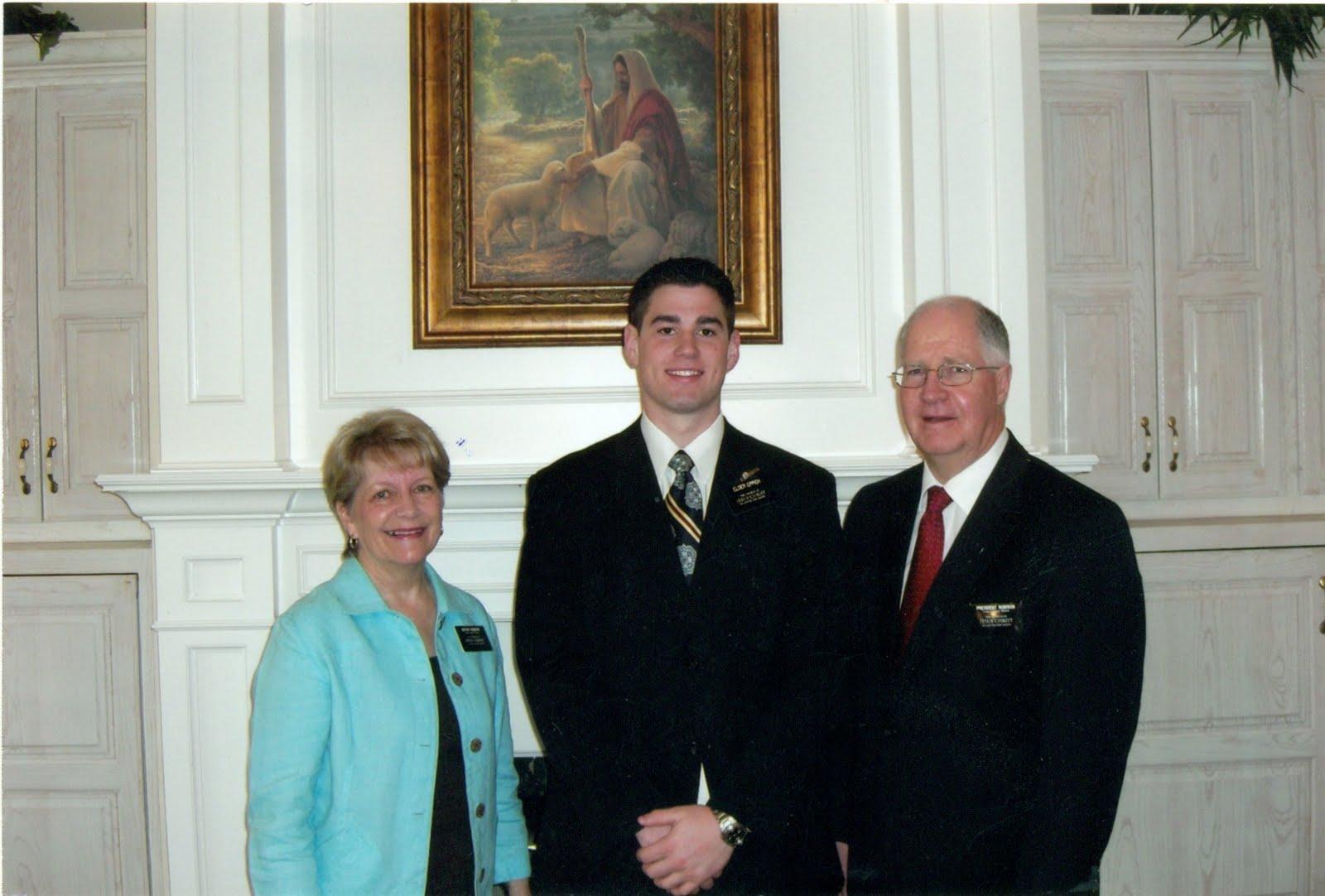 President & Sister Robinson & Elder Eppich
