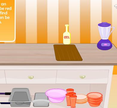 Juego de hacer recetas y platos de cocina